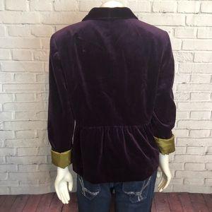J. Crew Jackets & Coats - J.crew Purple Velvet Blazer Jacket 8 RV $148 Work